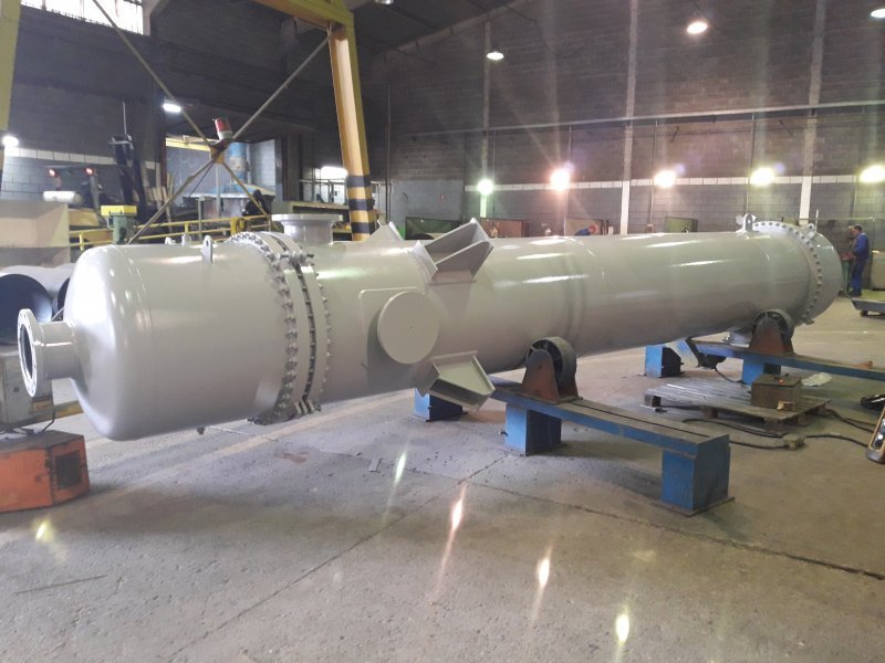 Equipamentos industriais para o setor de Projeto de trocadores de calor tipo calha para indústria química