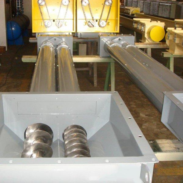 Foto do produto Rosca Transportadora Helicoidal Tubular